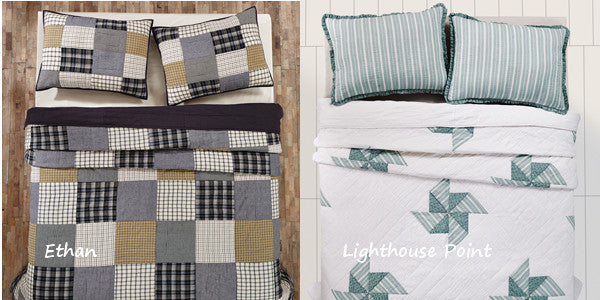 Spring Quilts by VHC Brands