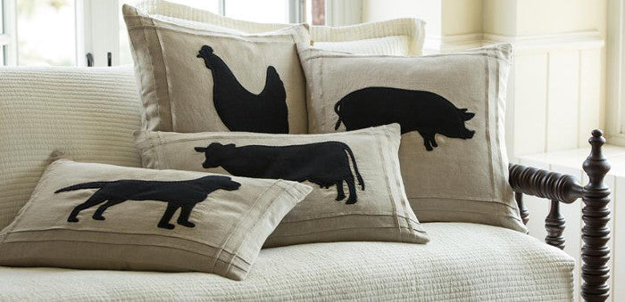 Barnyard Accent Pillows