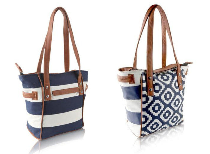 Navy Town and Country Bags