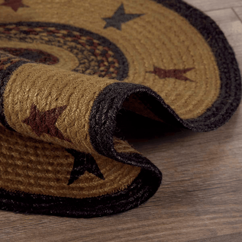Heritage Farms Oval Star Rug