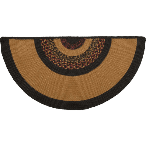 Heritage Farms Half Circle Star Rug