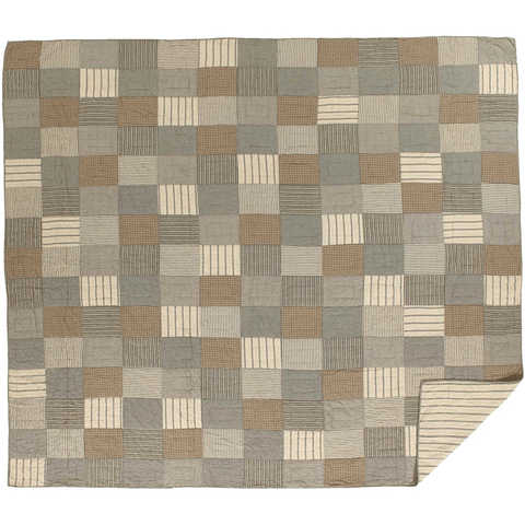 Sawyer Mill Charcoal Block Quilt