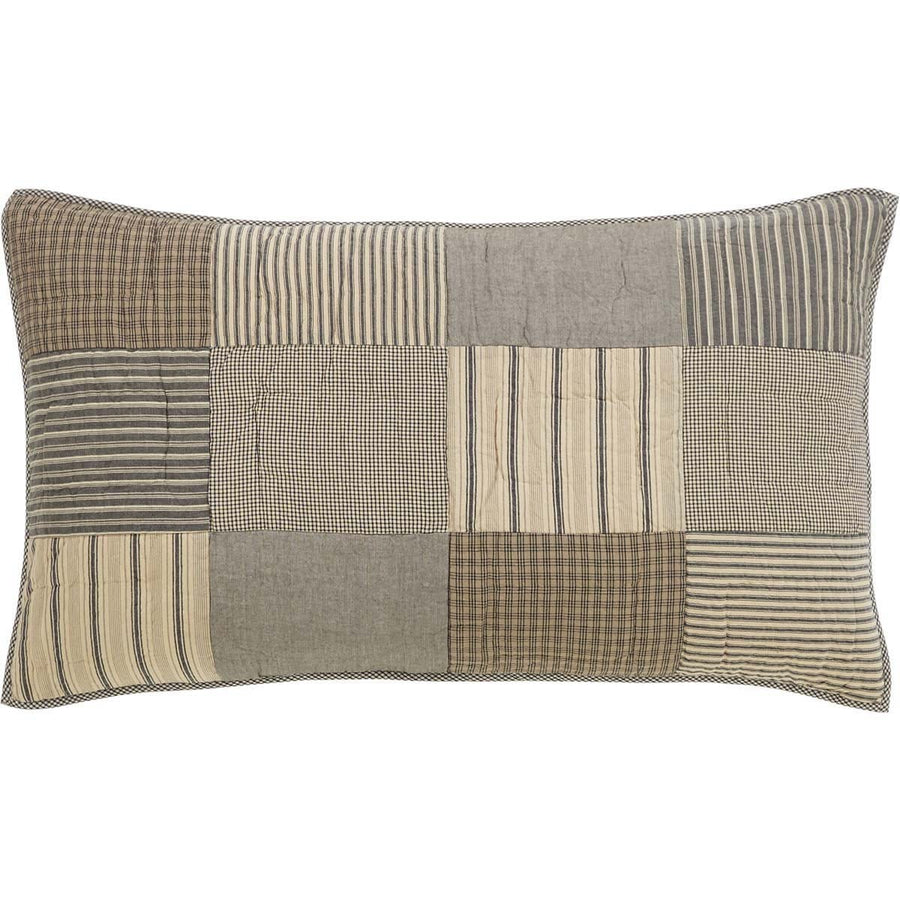 Sawyer Mill Charcoal King Sham