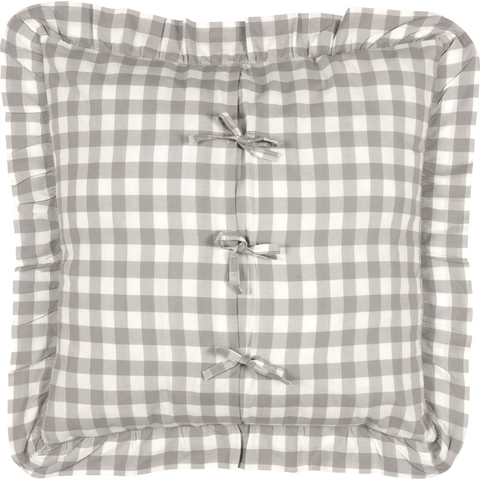 Annie Buffalo Check Euro Sham - Grey