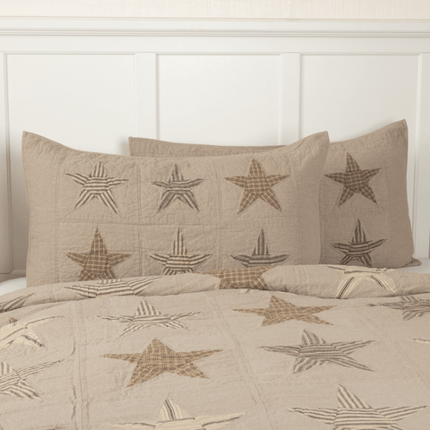 Sawyer Mill Star Quilted Pillow Sham