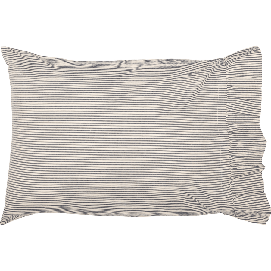 Hatteras Ticking Stripe Pillow Case Set