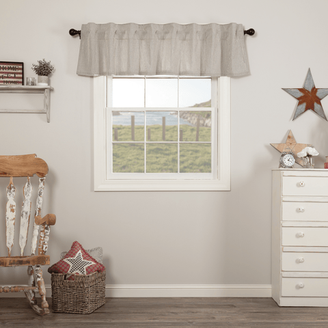 Hatteras Ticking Stripe Valance
