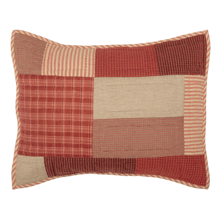 Rory Schoolhouse Red Sham