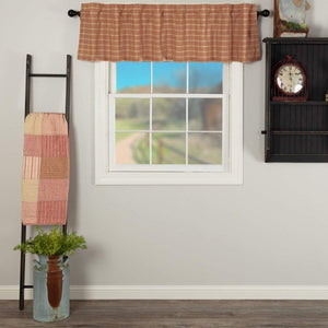 Sawyer Mill Red Plaid Valance