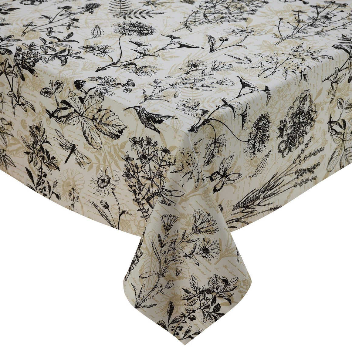 Botanical Printed Tablecloth