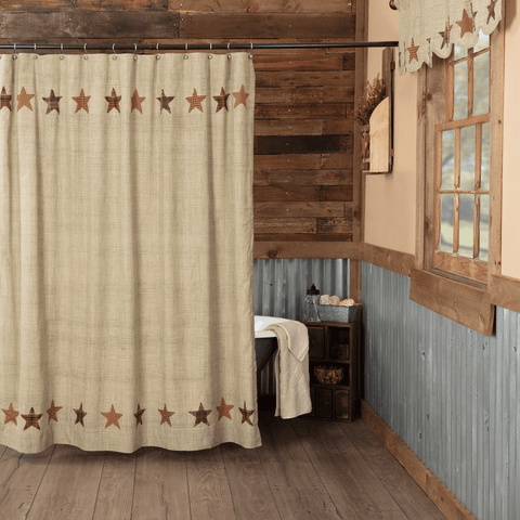 Abilene Star Shower Curtain