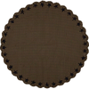 Black Star Round Tablecloth