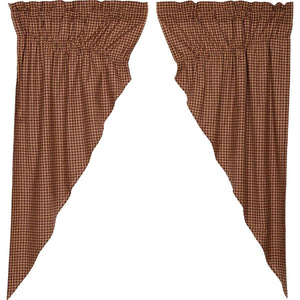 Patriotic Patch Prairie Curtain