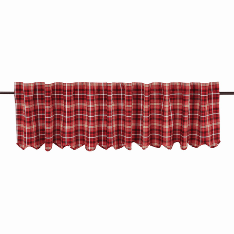 "Braxton Valance 90"" - Retro Barn Country Linens - 1"