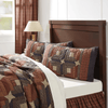 Parker King Sham - Retro Barn Country Linens - 2