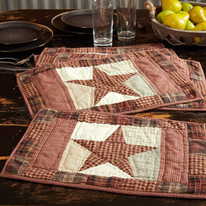 Abilene Star Placemat Set of 6