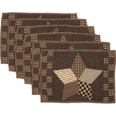 Farmhouse Star Placemat Set of 6