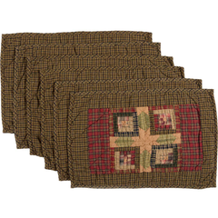 Tea Cabin Placemat Set