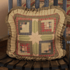 Tea Cabin Quilted Toss Pillow