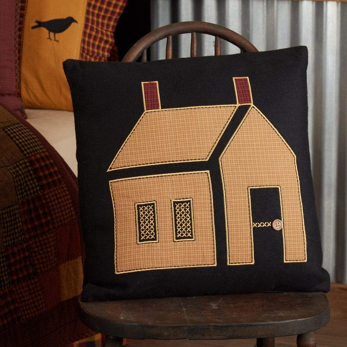 Primitive House Pillow