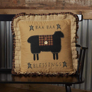 Primitive Baa Baa Blessings Pillow