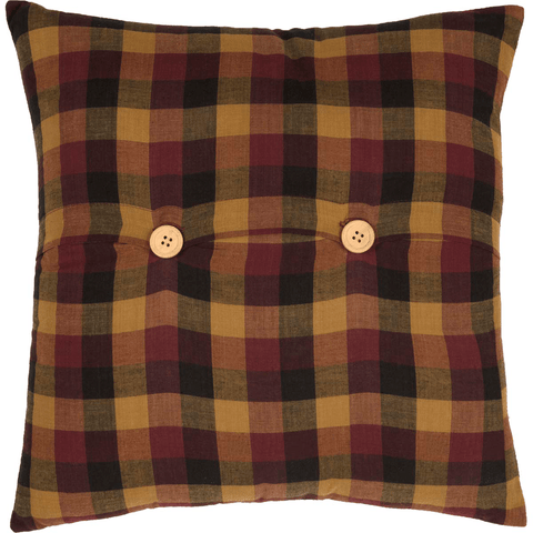Primitive Check Pillow