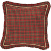Tartan Red Plaid Euro Sham