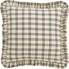 Prairie Winds Plaid Euro Sham