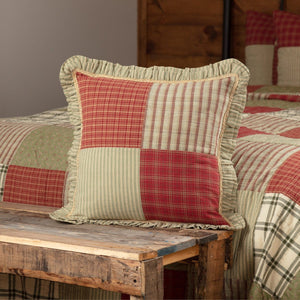 Prairie Winds Patchwork Pillow