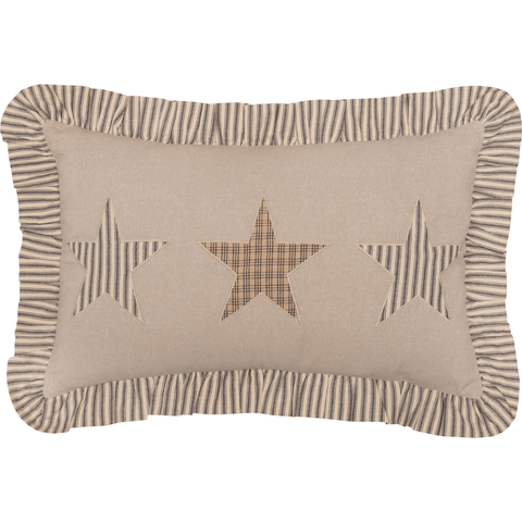 Sawyer Mill Star Ruffled Pillow