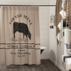 Sawyer Mill Shower Curtain - Cow