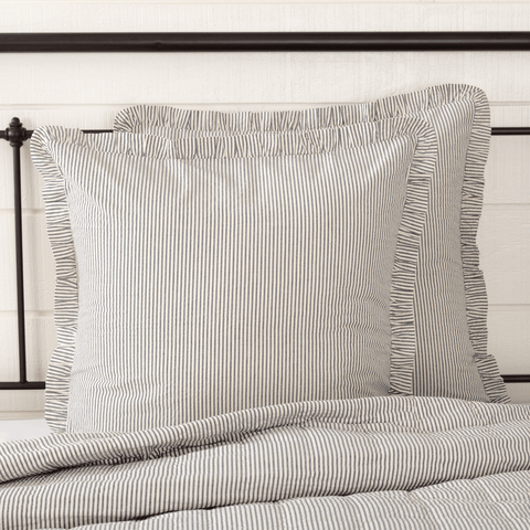 Hatteras Ticking Stripe Euro Sham