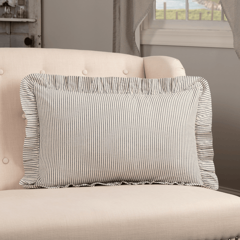 Hatteras Ticking Stripe Rectangle Pillow
