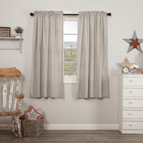 "Hatteras Ticking Stripe 63"" Panel Set"