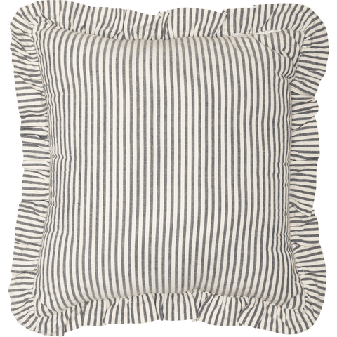 Hatteras Ticking Stripe Square Pillow