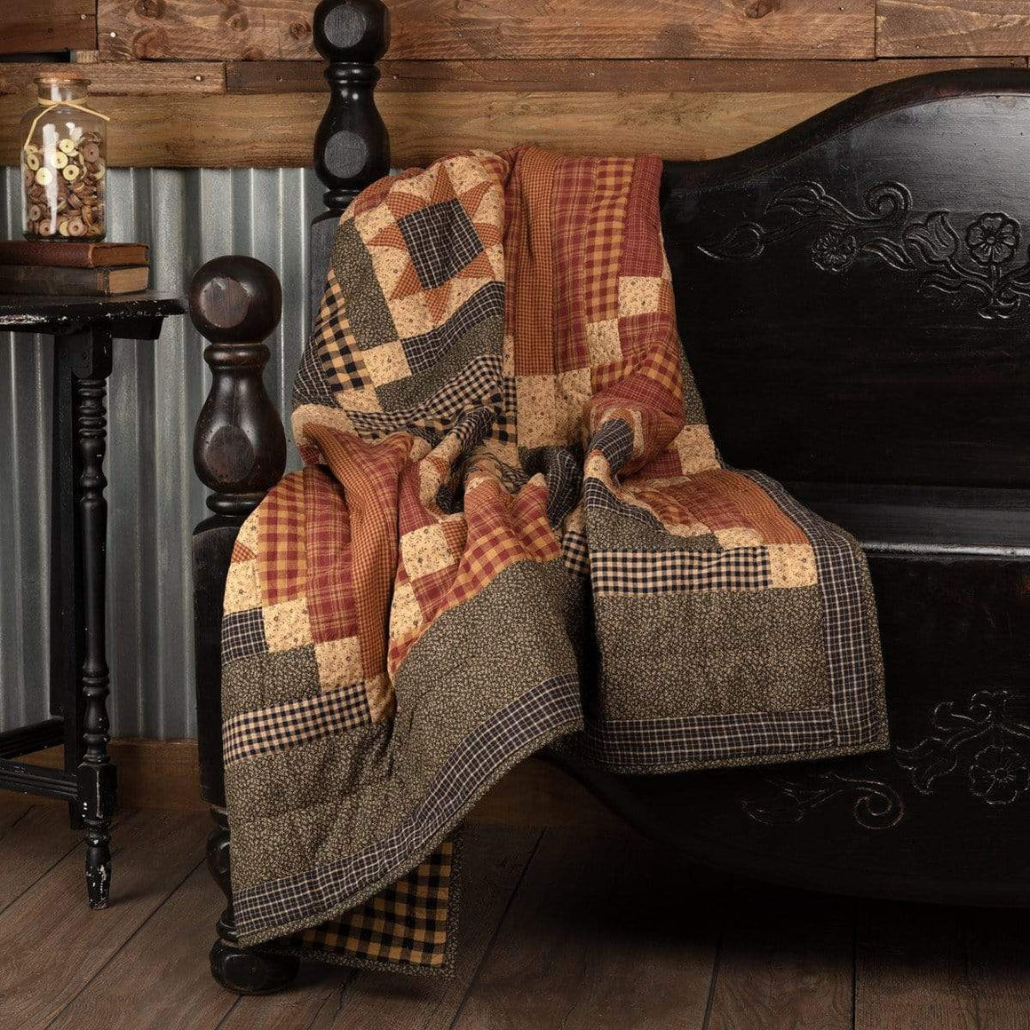Maisie Quilted Throw