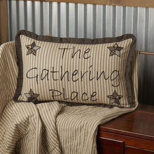 Farmhouse Star Gathering Place Pillow