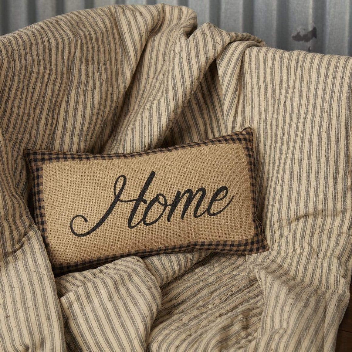 Farmhouse Star Home Pillow