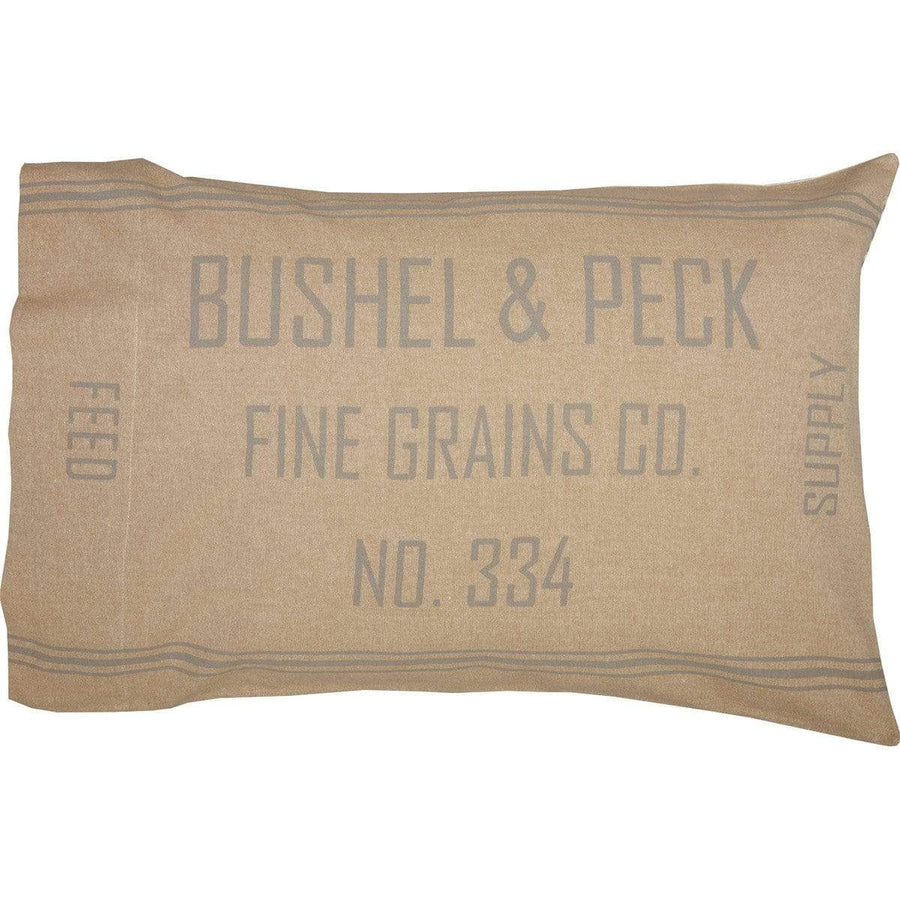 Grace Grain Sack Pillow Case Set