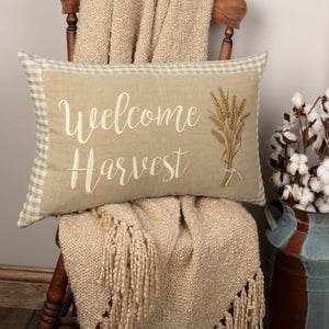 Grace Welcome Harvest  Pillow