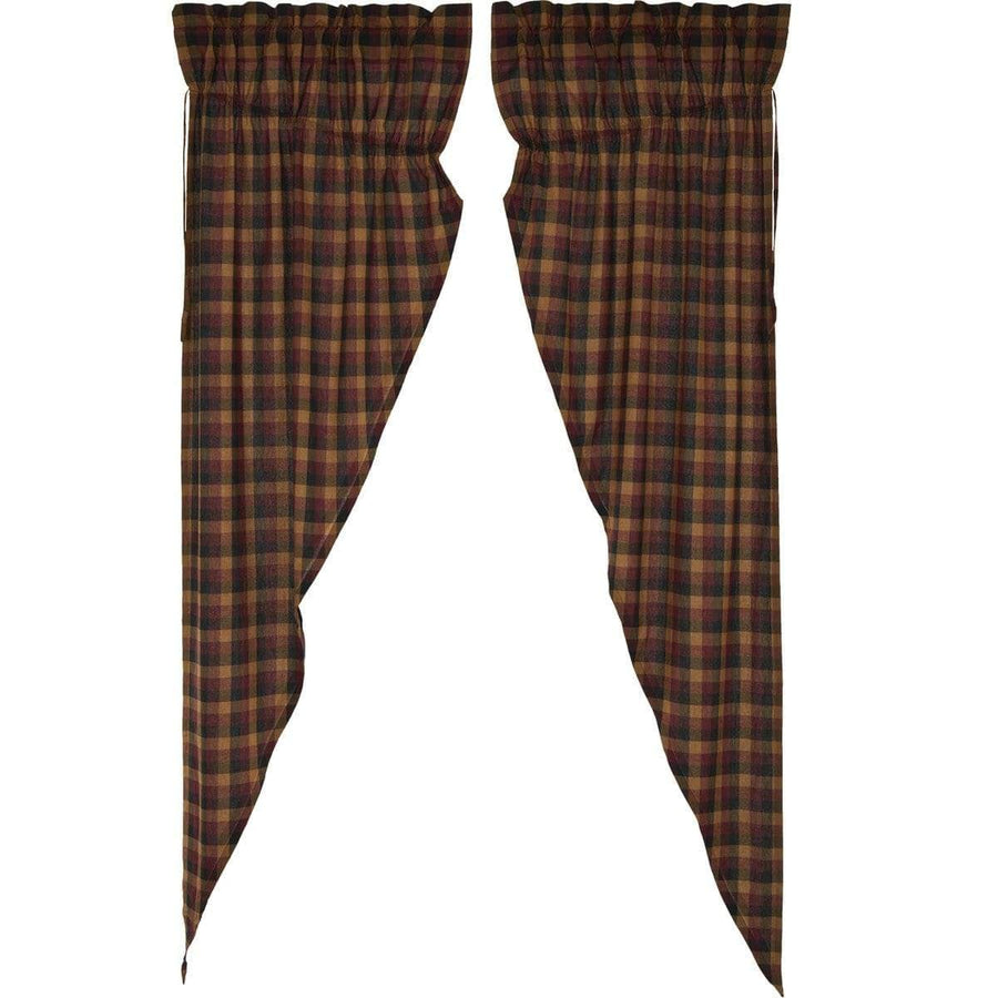 Primitive Check Long Prairie Curtain