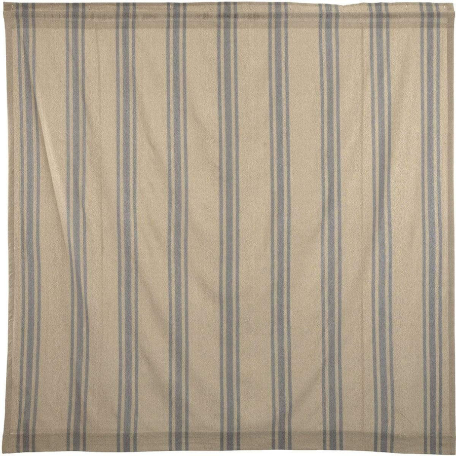 Farmer's Market Grain Sack Stripe Shower Curtain