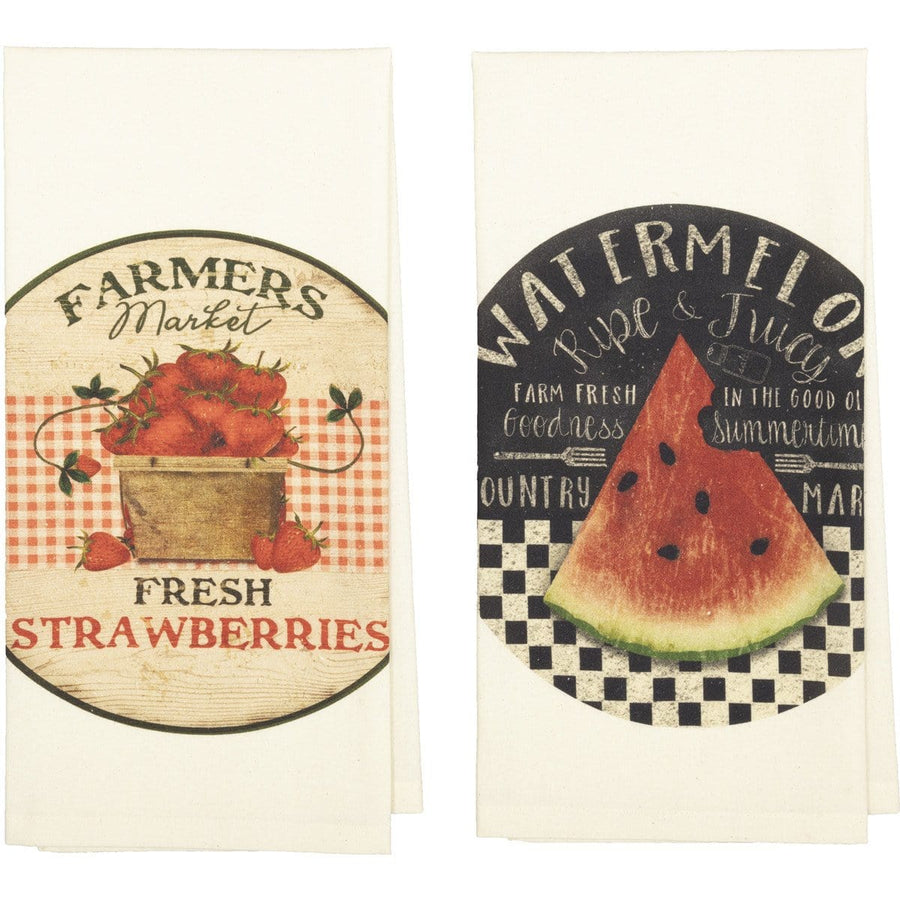 Farmer's Market Stand Tea Towel Set
