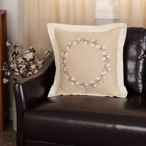 Ashmont Cotton Wreath Pillow