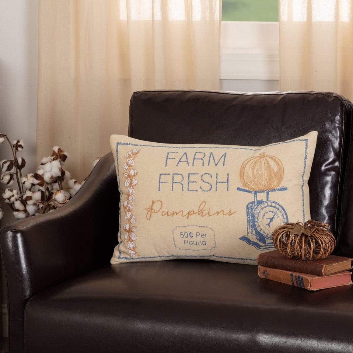 Ashmont Pumpkin Scale Pillow