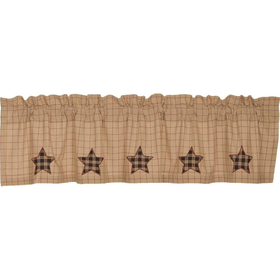 Bingham Star Applique Valance