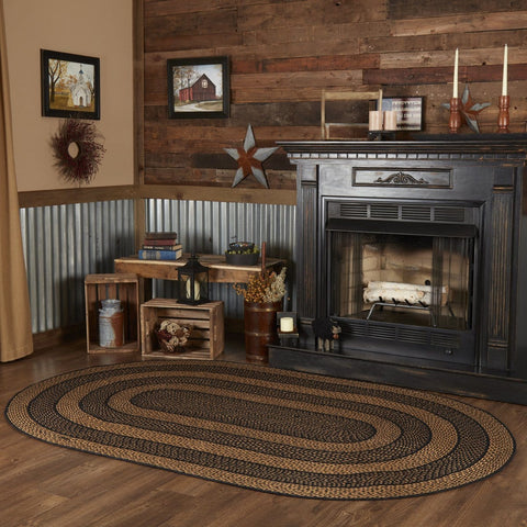 Farmhouse Oval Braided Rug