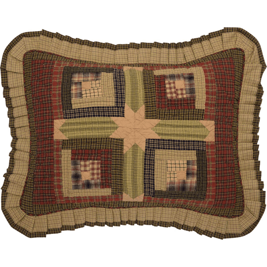 Tea Cabin Pillow Sham