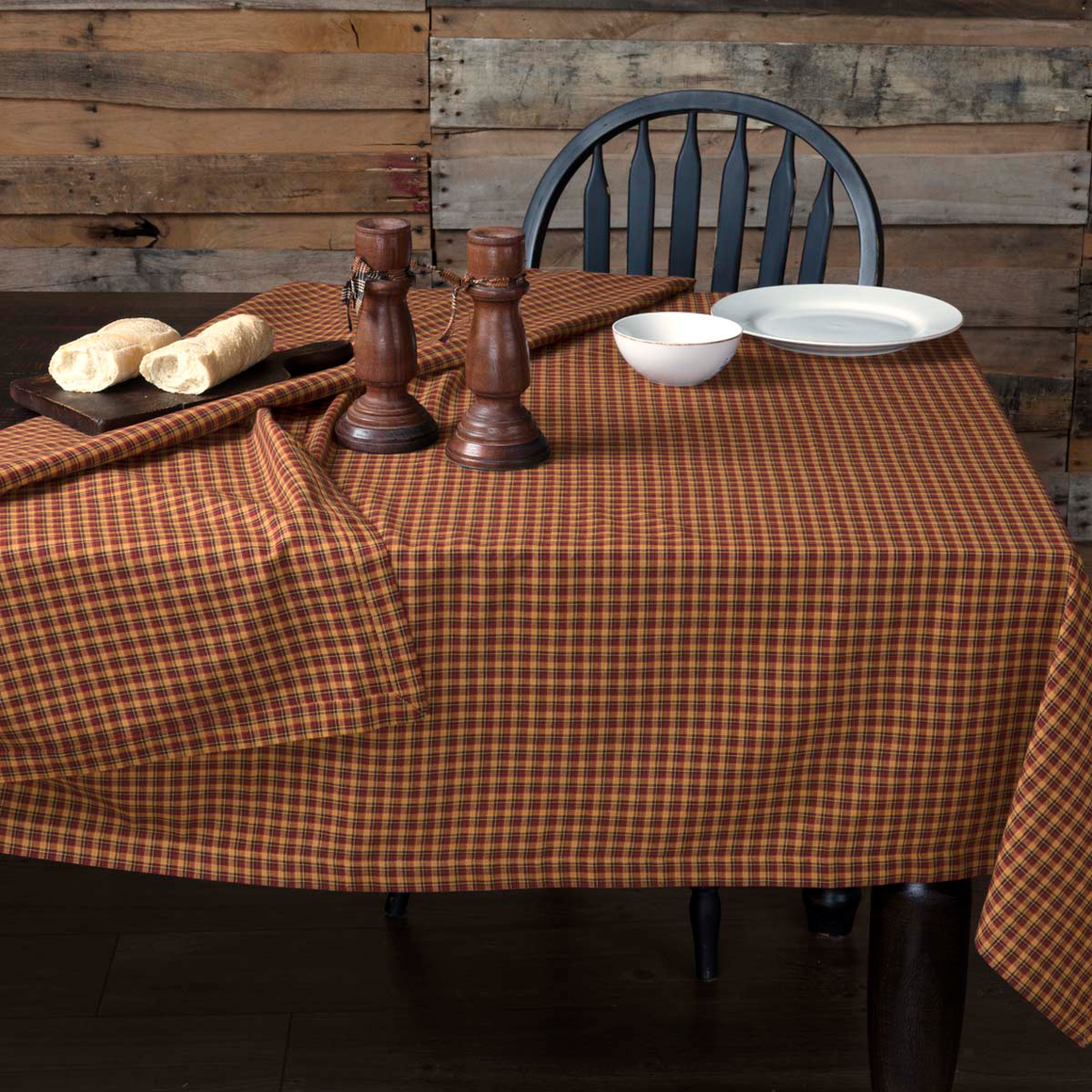 Patriotic Patch Square Tablecloth