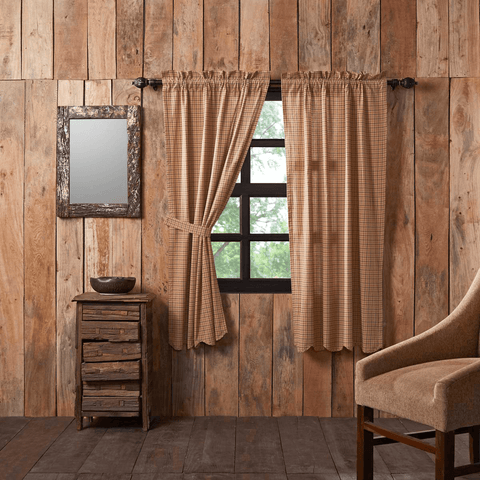 Curtain Panels 63 Quot Retro Barn Country Linens